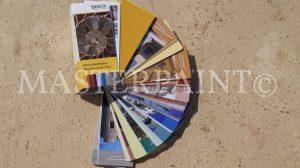 Beek Mineralfarben Fächer